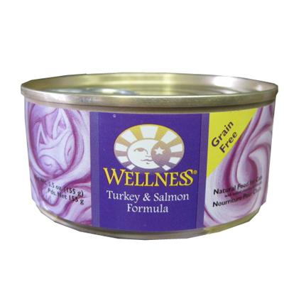 Wellness Turkey and Salmon Canned Cat Food 5.5-oz. each
