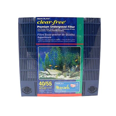 Undergravel Aquarium Filter 55 gal