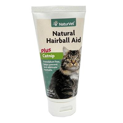 NaturVet Cat Hairball Aid with Catnip