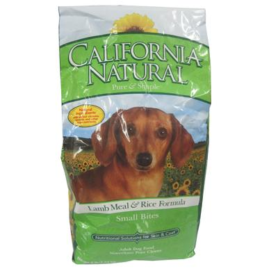 California Natural L&R Small Bite Adult Dog Food 5lb