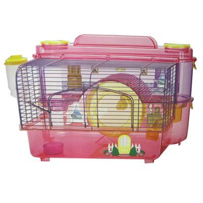 SAM Doll House 2 Story Hamster and Gerbil Cage