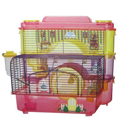 SAM Doll House 3 Story Hamster and Gerbil Cage