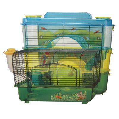 SAM Rainforest 3 Story Hamster and Gerbil Cage