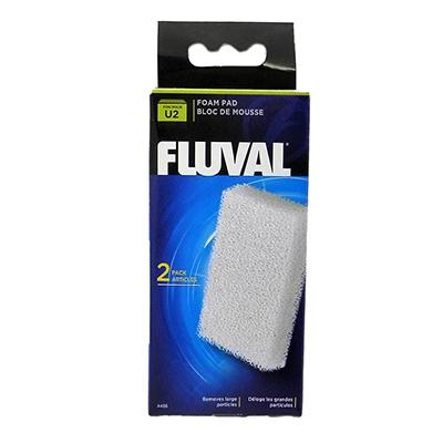 Fluval U2 Aquarium Filter Stage 1 Foam Pad 2 pack