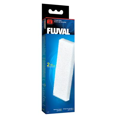 Fluval U3 Aquarium Filter Stage 1 Foam Pad 2 pack