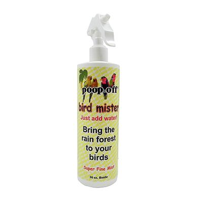 Poop-Off Ultra Fine Bird Mister