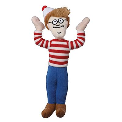 Where's Waldo Soft Dog Toy