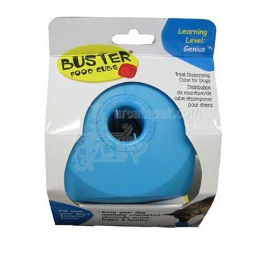Buster Cube Turquoise Dog Treat-Dispensing Toy