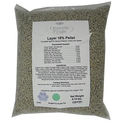 Organic Pride Chicken Layer Pellet 9.75 Lb