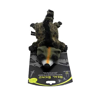 Hyper Product Raccoon Soft Dog Toy