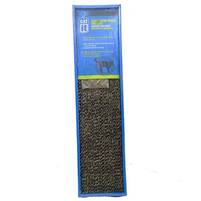 CatIt Cardboard Cat Scratcher with Catnip
