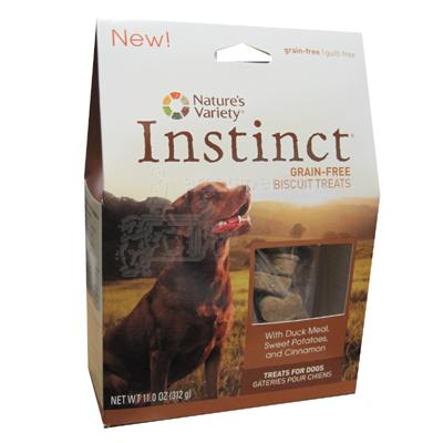 Natures Variety Instinct Duck Grainless Biscuits 11oz