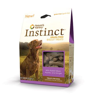 Natures Variety Instinct Rabbit Grainless Biscuits 11oz
