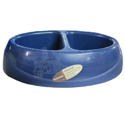Ultra Lightweight Double Diner Large Pet Food Dish