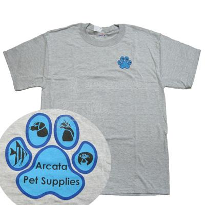 Arcata Pet T-Shirt Mens Lg