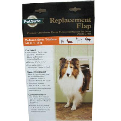 Petsafe Freedom Pet Door Replacement Flap Medium