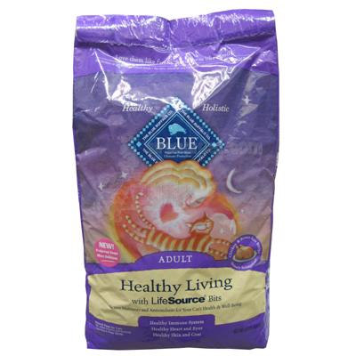 Blue Buffalo Healthy Living Chicken Adult Cat Food 15 Lb.