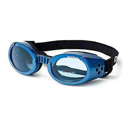 Doggles Eyeware for Dogs Blue Frame / Blue Lens Large