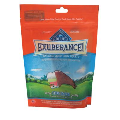 Blue Exuberance Natural Jerky Treats for Dogs 3.25-oz