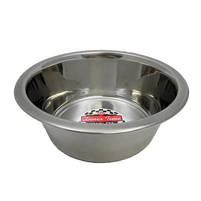 Stainless Steel Dog Food/Water Bowl 2 Qt