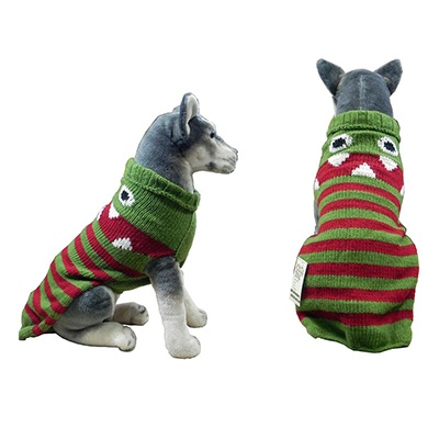 Handmade Dog Sweater Wool Lil Monster Medium