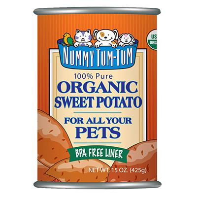 Nummy Tum Tum 100% Organic Sweet Potato for Dogs 15-oz.