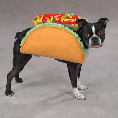 Casual Canine Dog Costume Taco Small