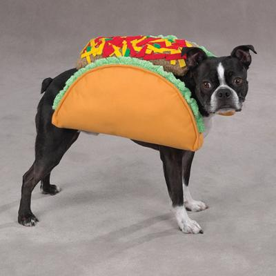 Casual Canine Dog Costume Taco Medium