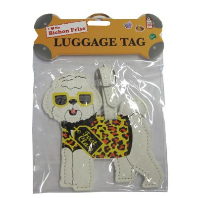 Luggage Tag I Love My Bichon
