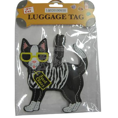 Luggage Tag I Love My Cat