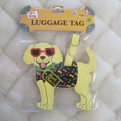 Luggage Tag I Love My Dog
