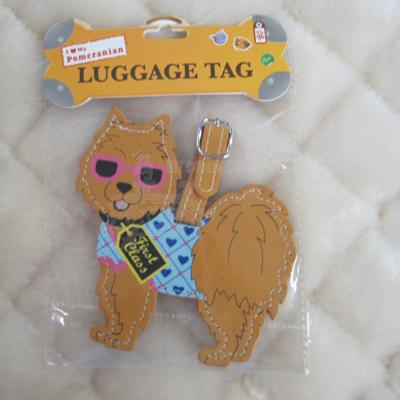 Luggage Tag I Love My Pomeranian