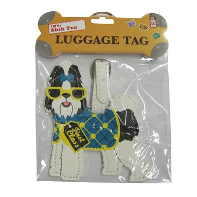 Luggage Tag I Love My Shih Tzu