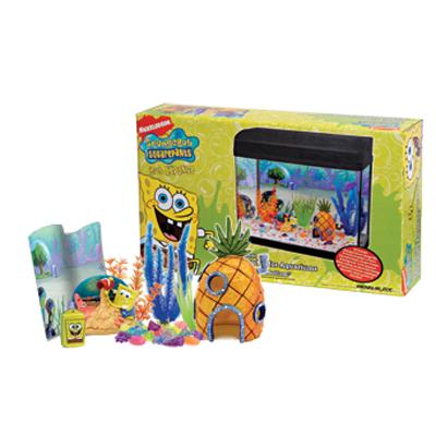 SpongeBob Bikini Bottom Aquarium Decorating Kit