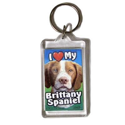 Plastic Keyring Brittany