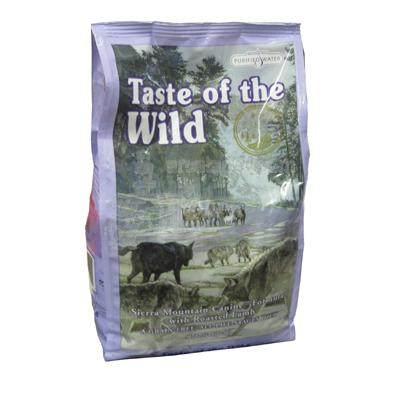Taste Of the Wild Sierra Mountain Grain-Free Dog Food 5 Lb.