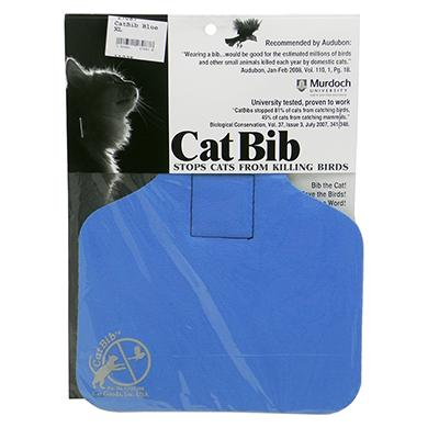 CatBib WildBird Saver Blue Big
