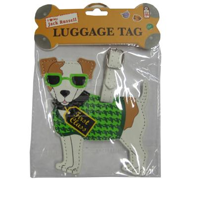 Luggage Tag I Love My Jack Russell