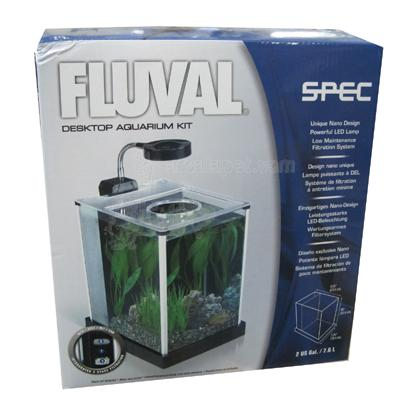 Fluval Spec 2 Gallon Desktop Aquarium Kit