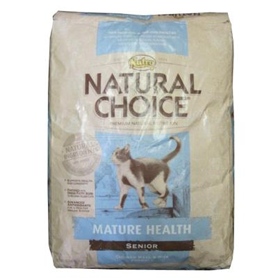 Nutro Natural Choice Mature Health Senior Cat Food 15-Lb.