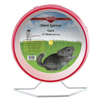 Jumbo Silent Spinner 12-inch Small Animal Wheel