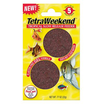 tetra weekend tropical fish feeder 2pk aquar foods at