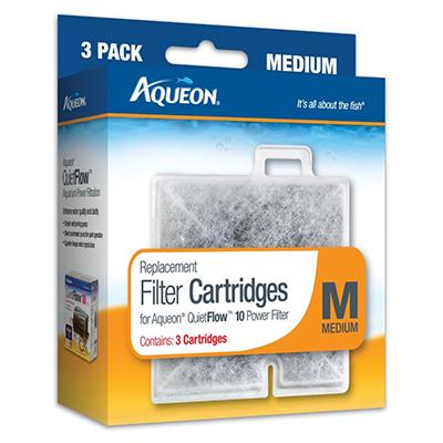 Aqueon Replacement Filter Cartridge M Medium 3 Pack