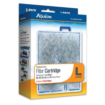 Aqueon Replacement Filter Cartridge L Large 3 Pack