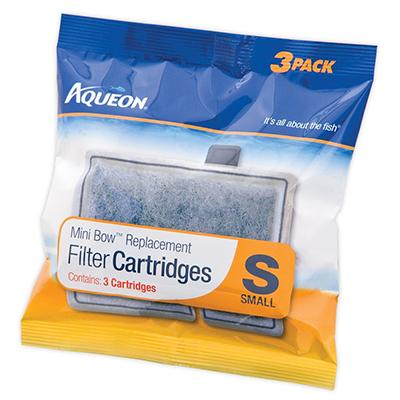 Aqueon Replacement Filter Cartridge S Small 3 Pack