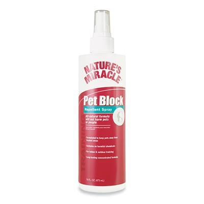 Nature's Miracle Pet Block Pet Repellent Training Spray 16oz