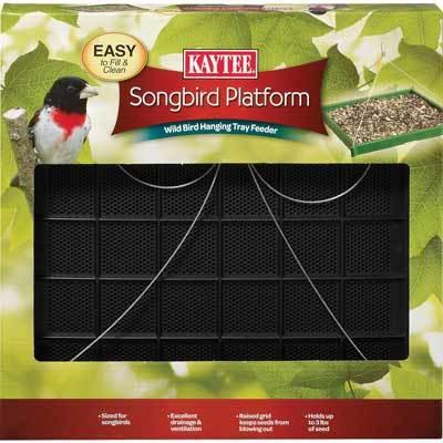 Kaytee Songbird Platform Wild Bird Feeder