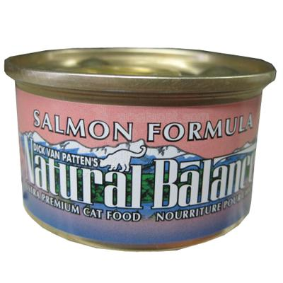 Natural Balance Salmon Canned Cat Food 3-oz. each