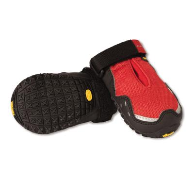 RuffWear Grip Trex Red Currant Dog Boots Small