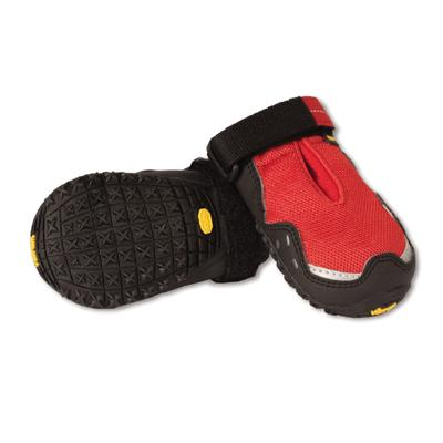 RuffWear Grip Trex Red Currant Dog Boots Medium